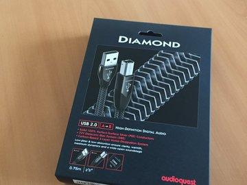 Vente: CABLE USB AUDOQUEST DIAMOND