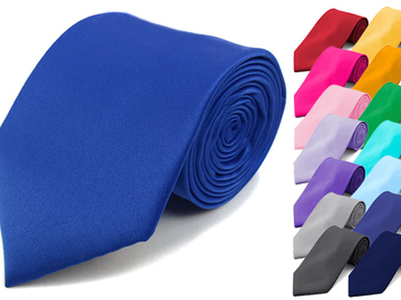 Sell: Assorted Color 120 pc Men's Satin Ties