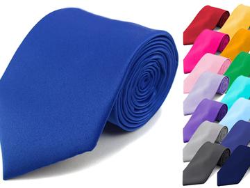 Buy Now: Assorted Color 120 pc Men's Satin Ties
