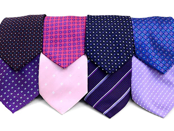 Sell: 120pc Pre-pack Assorted Poly Woven Ties
