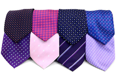 Buy Now: 120pc Pre-pack Assorted Poly Woven Ties