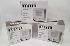 Sell: 10 x New Crane® Aluminum Ceramic Personal Heater in White