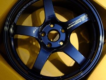 Selling: 18x8 | 5x112 | Advan GT Titanium Blue wheels for sale