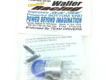 Selling: Waller Racing 1/8 053/086 pipe power adapter