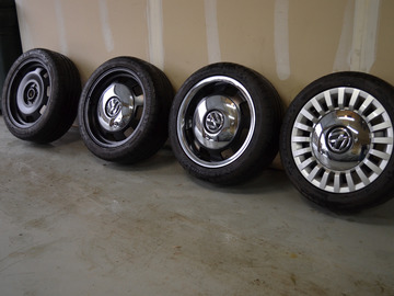 Selling: 17x7 | 5x112 | VW Heritage wheels for sale