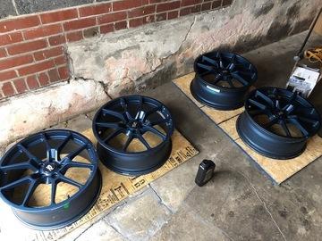"Selling: 19"" | 19x8 | Neuspeed RSE10 wheels for sale"