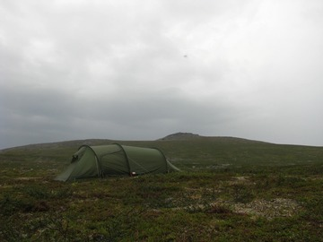 Renting out (per night): Fjällräven Abisko Endurance 2