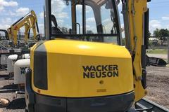 En alquiler: Miniexcavadora Wacker Neuson 38z3, 3.5tons, 3.35 profundidad