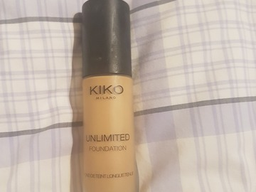 Venta: Kiko Milano- Unlimited Foundation