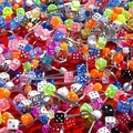 Sell: 400pc Dice Body Jewelry,Mixed Colors/Styles $2000 (+) Return