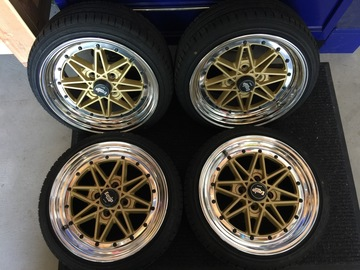 Selling: 15x7 | 4x100 | Work Equip 03 wheels for sale