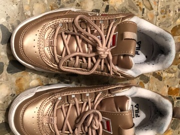 Venta: Fila Disruptor Rose Gold