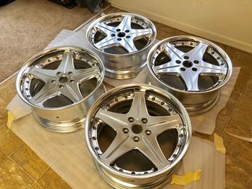Selling: 18x8 & 18x9 | 5x112 | Work Euroline SL wheels for sale