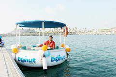Rent per hour: ECO Donut Boat Ride