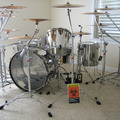 Forum: Ludwig Stainless Steel collection w/hardware, Paiste cymbals