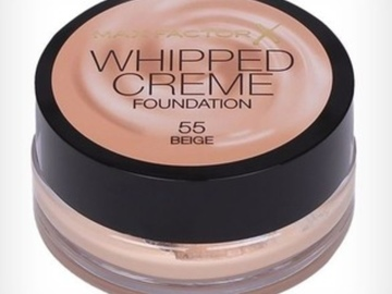 Buscando: MAX FACTOR WRIPPED CREAM 55 Beige