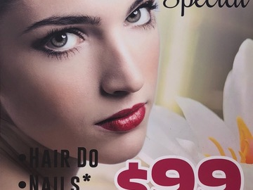 Ofreciendo Servicios: Prom Special - Hair - Nails - Makeup Package