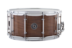 "SOLD!: SOLD! Taye Walnut/Maple Hybrid 14x7 snare in ""Natural Walnut"""