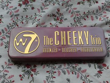 Venta: Paleta The Cheeky trio W7 Colorete+ Bronzer+ Iluminador