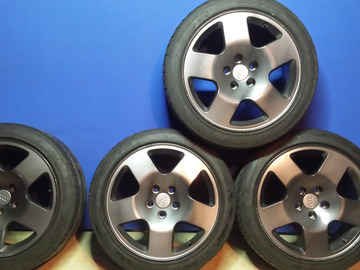 Selling: AUDI D2 A8 S4 FAT FIVES 5x112 Nitto NeoGEN 215/45 R17 Tires VW