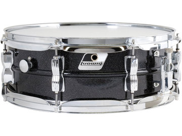 Renting out: Ludwig Acrolite 5x14 Black Galaxy Snare Drum