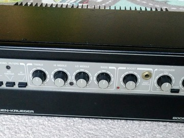 Renting out: Gallien-Krueger GK 800RB Bass Amplifier