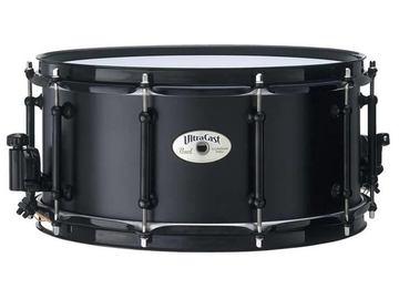 "SOLD!: Pearl UltraCast Aluminum 6.5"" x 14"" Snare Drum"