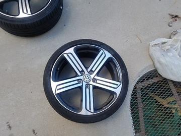"Selling: 19"" | 5x112 | VW Cadiz Wheels for sale"