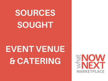 Procurement Listing: Event Venue & Catering