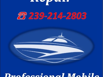 Offering: Mobile Marine Repair - Cape Coral, FL