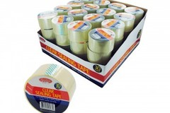 Sell: 64x 30 Yard Clear Sealing Shipping Tape retail ready