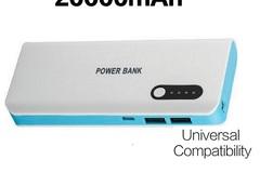 Sell: 20 X 20000 mah powerbank Dual USB with flashlight