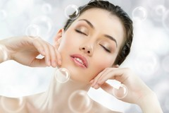 Offering Services: Deep clean facial + collagen + regular mani/pedi + Blow dry