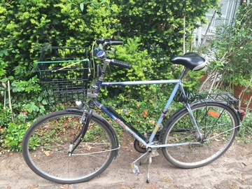 Renting out: Sturdy touring bike with basket