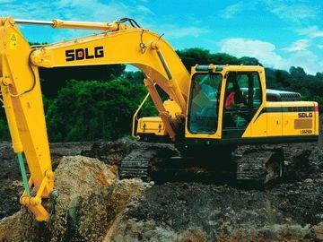 En alquiler: Excavadora de 20 tns