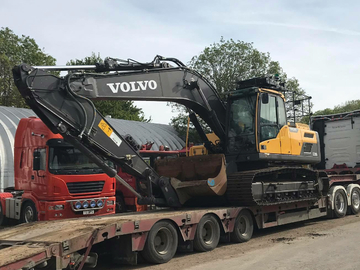 Hourly Equipment Rental: Volvo 220