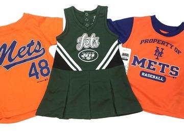 Sell: NFL, MLB, NBA Toddler, Baby & Kids Team Apparel