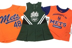 Sell: NFL, MLB, NBA Toddler, Baby & Kids Team Apparel