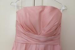 Ilmoitus: Juhlava vaaleanpunainen mekko kokoa 36
