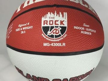 Sell: Lot of 84 The Rock Basketball Indoor/Outdoor MG-4300LR NEW!