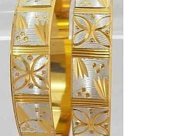Sell: (240) Laser Cut Micron Plated Bangle Bracelet-$9.99 Retail/e