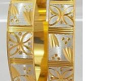 Sell: (240) Laser Cut Micron Plated Bangle Bracelet-$9.99 Retail/e