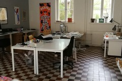 Renting out: Peaceful work spot for rent for summer in Vallila