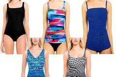 Sell: 35 Gottex Swimsuits Sizes 10-14 Tummy Control/Built in Bra