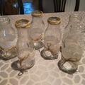 Ilmoitus: Pieniä lasipulloja maljakoiksi