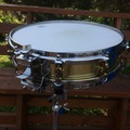 SOLD!: Yamaha SD493 3.5 x14 seamless brass piccolo snare - reduced
