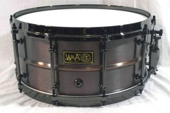 Selling with online payment: Walberg and Auge 6.5 x 14 Brass Shell Snare