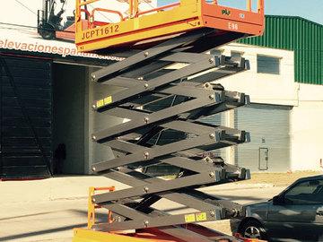 En alquiler: Alquiler Plataforma de elevacion 16mts