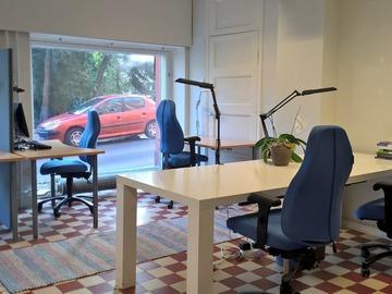 Työhuoneprofiili: Rauhallinen työtila erityisesti tutkijoille ja kirjoittajille
