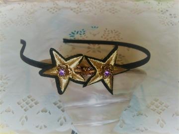 Vente au détail: serre tete étoiles, headband